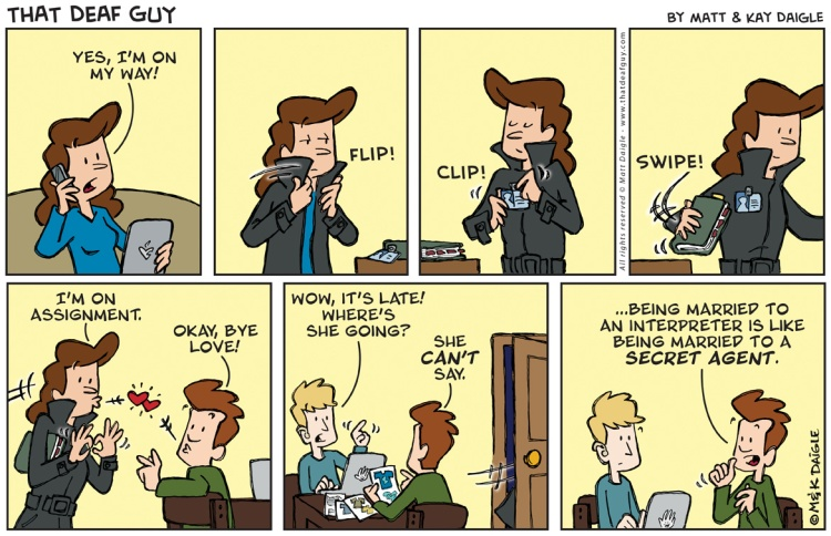 Interpreters are like secret agents