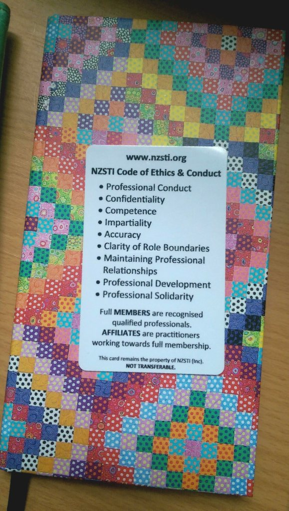 NZSTI Code of Ethics & Conduct
