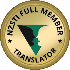 Agustina Marianacci: NZSTI Full Member EnglishSpanish